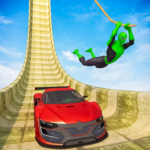Superhero Mega Ramps GT Racing Car Stunts Game 1.11 APK MOD Unlimited Money